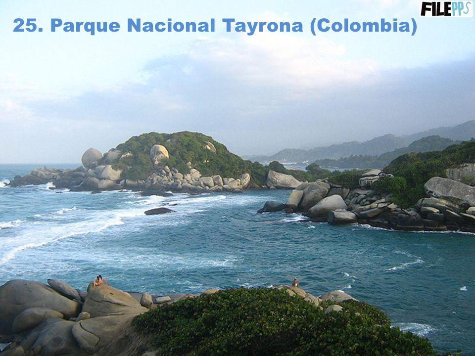 24. Laguna San Rafael (Chile)