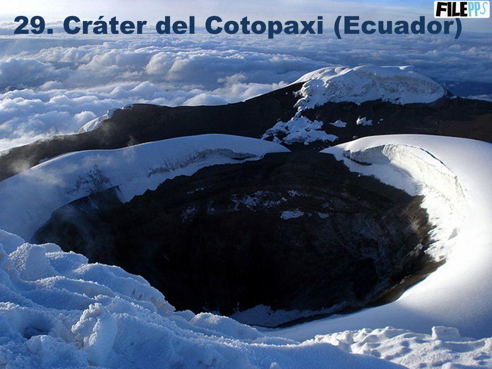 28. Islas Galápagos (Ecuador)