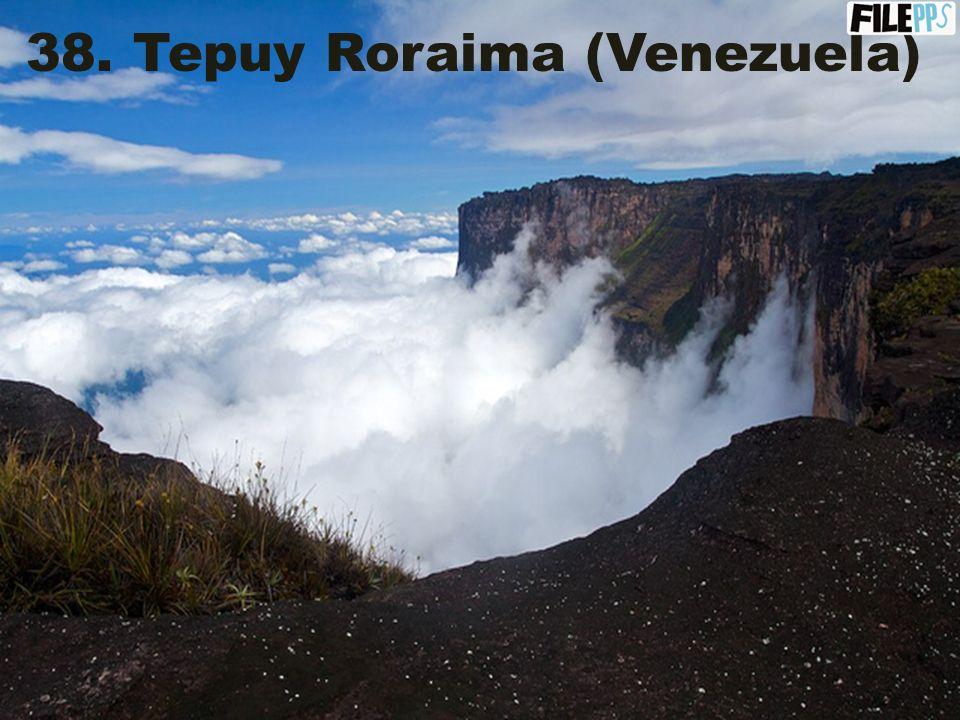 37. Archipiélago los Roques (Venezuela)