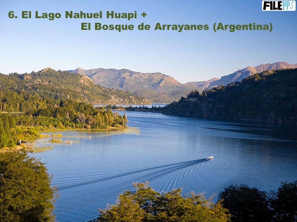 5. Glaciar Perito Moreno (Argentina)