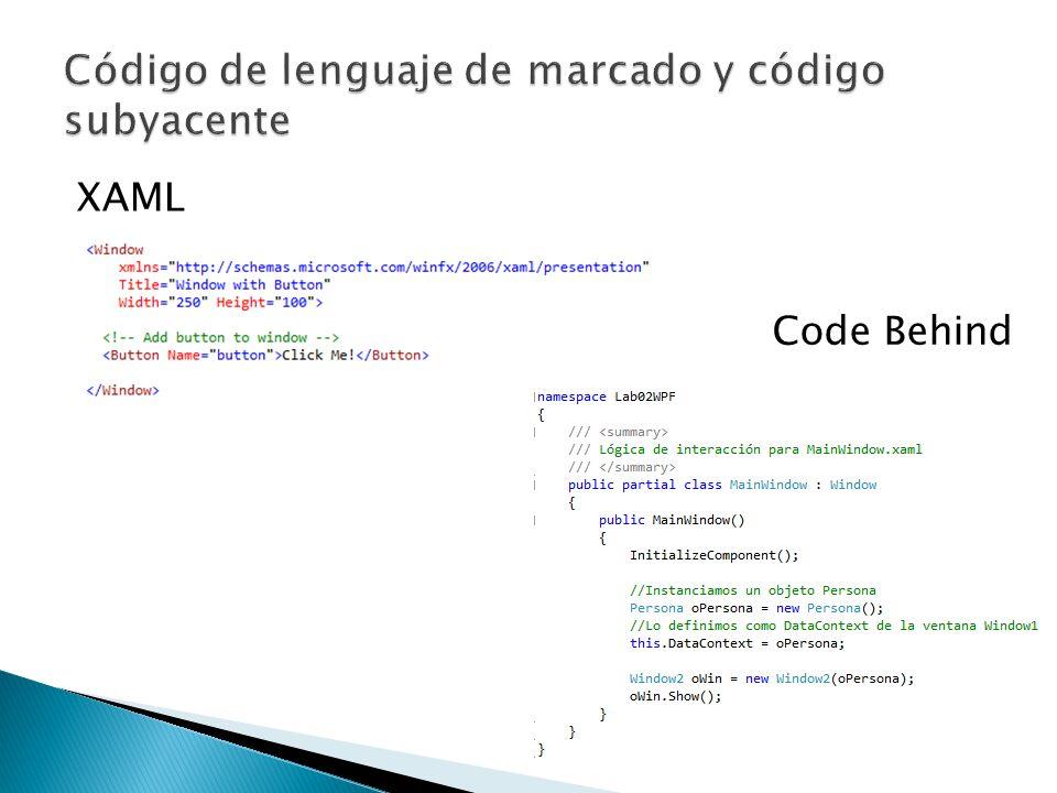 XAML Code Behind