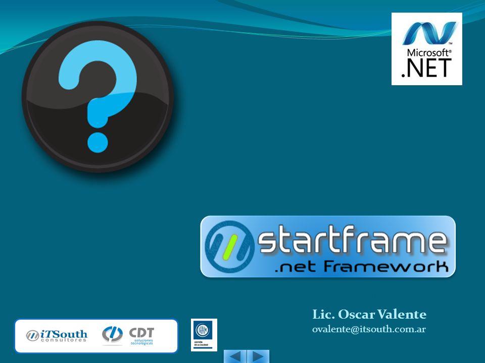 Lic. Adrián Fols afols@itsouth.com.ar Lic. Oscar Valente ovalente@itsouth.com.ar