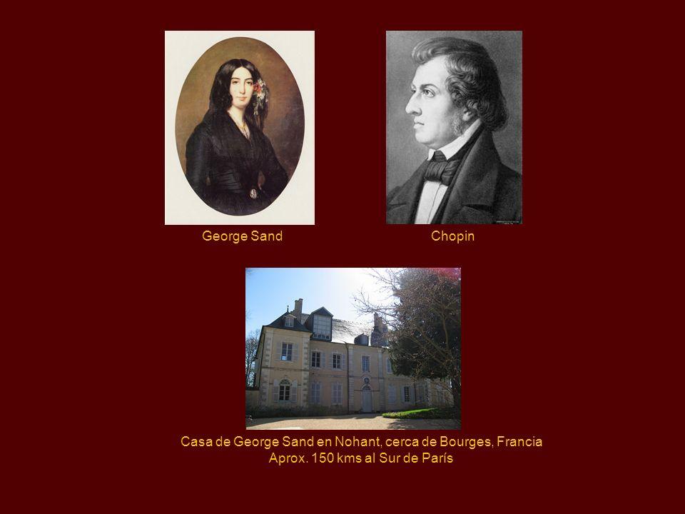 George Sand A finales de octubre de 1836, Frédéric fue invitado a una reunión en donde Franz Liszt le presentó a una mujer famosa: George Sand,nom de
