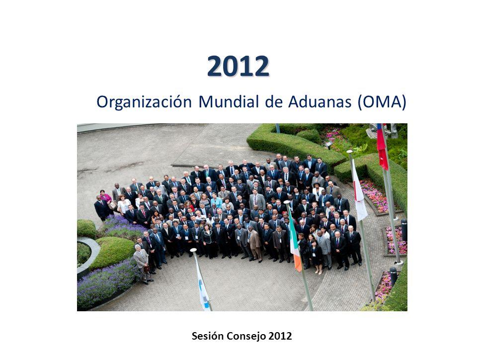 Misión de la OMA Lograr eficiencia y eficacia en las Aduanas… Seguridad y Facilitación Protección de la Sociedad Recaudación...lo que promueve La prosperidad económica y el desarrollo social l