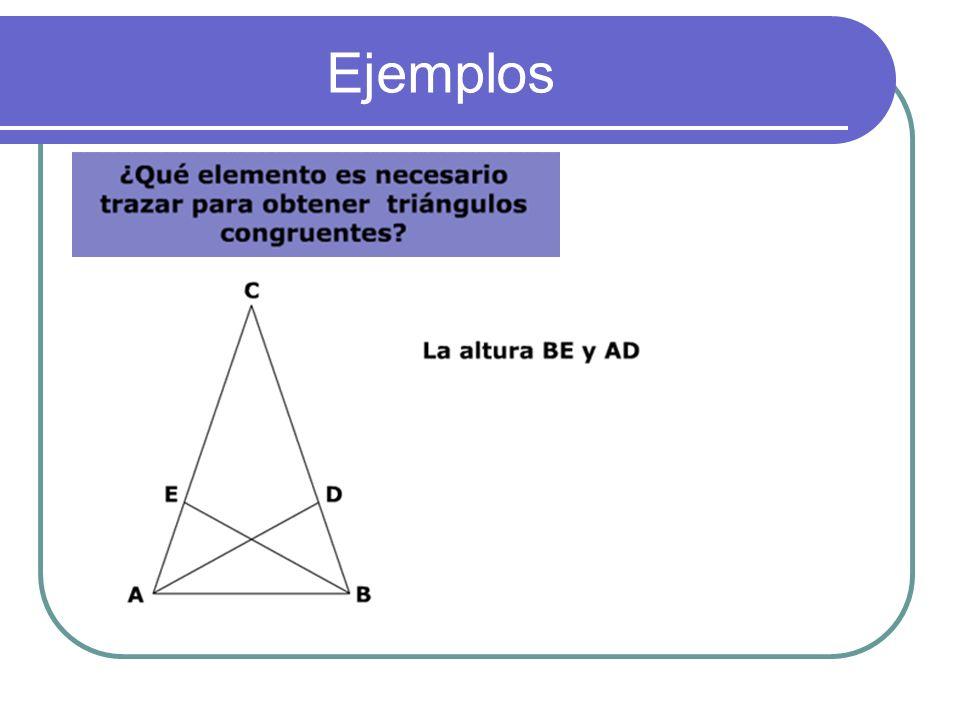 2) Dado el triángulo rectángulo de lados a,b y c, se han construido las figuras que están a sus lados copiándolo varias veces y colocándolo en diferen