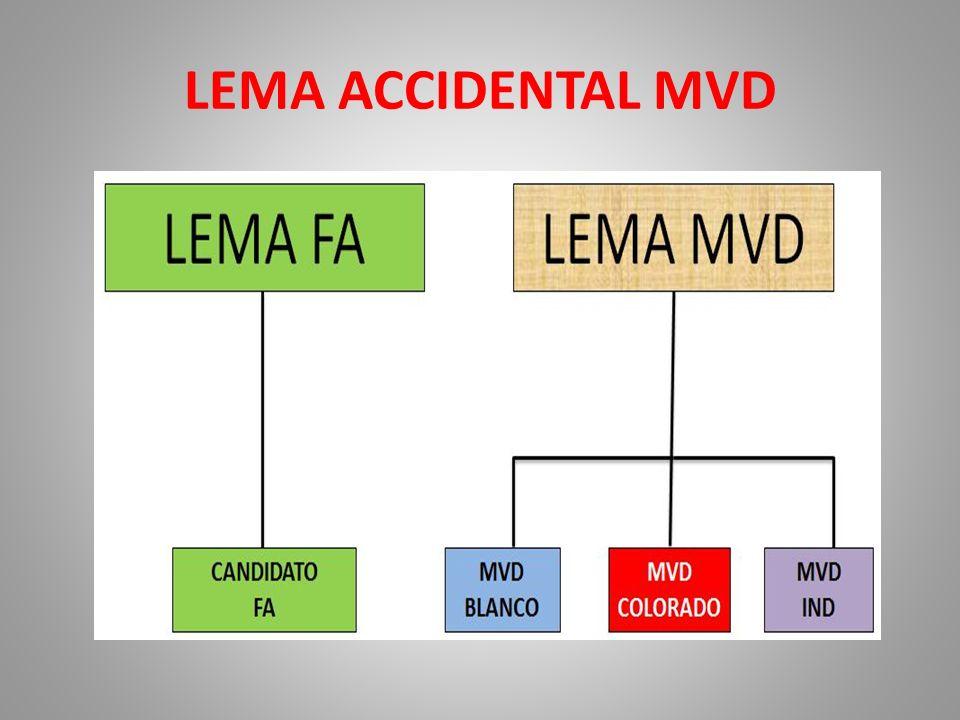 LEMA ACCIDENTAL MVD