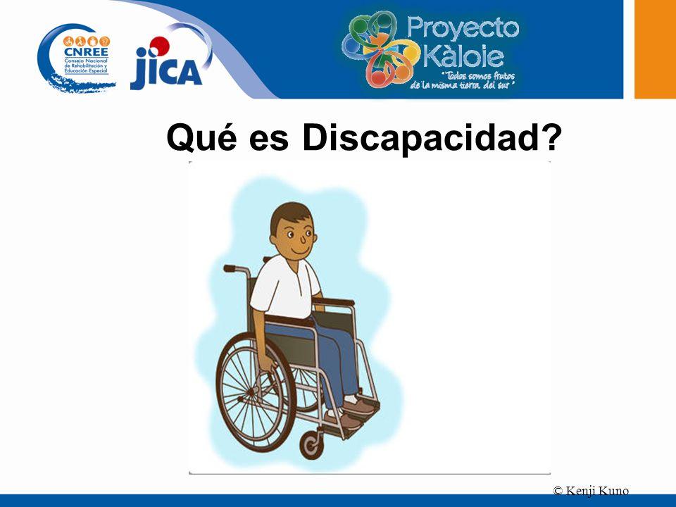 © Kenji Kuno Qué es Discapacidad?