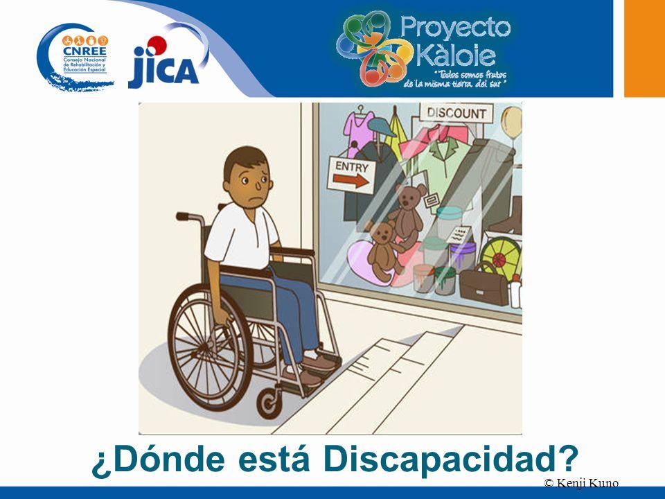© Kenji Kuno ¿Dónde está Discapacidad?