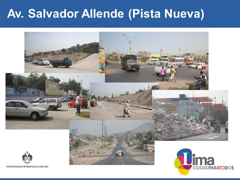 Av. Salvador Allende (Pista Nueva)