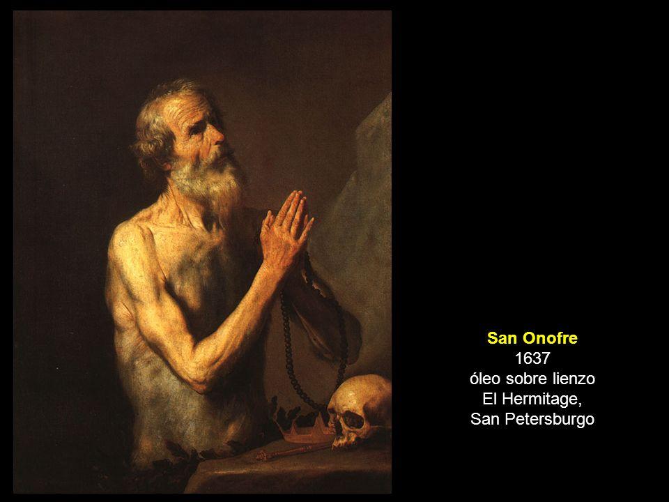 San Onofre 1637 óleo sobre lienzo El Hermitage, San Petersburgo