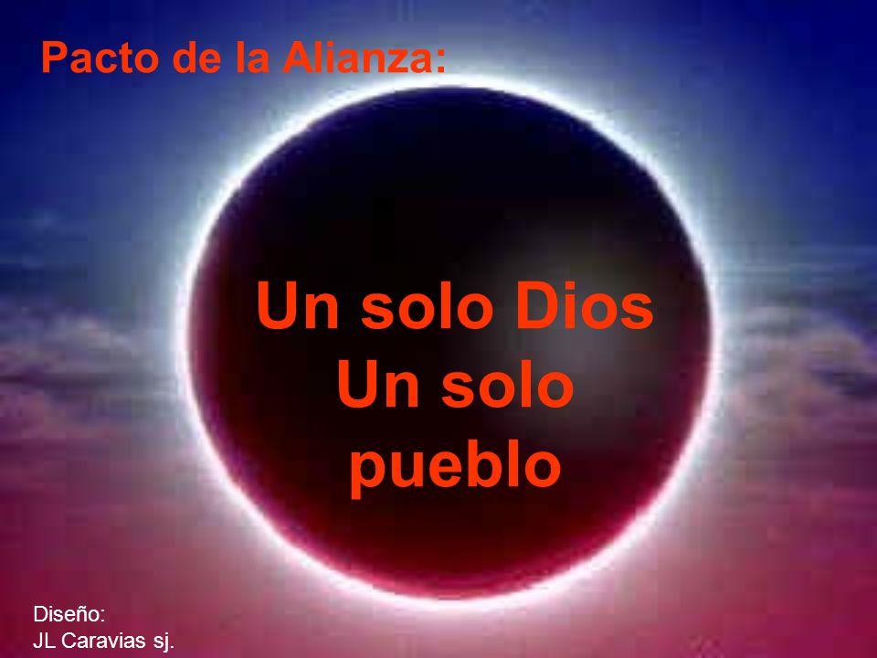 Pacto de la Alianza: Un solo Dios Un solo pueblo Diseño: JL Caravias sj.