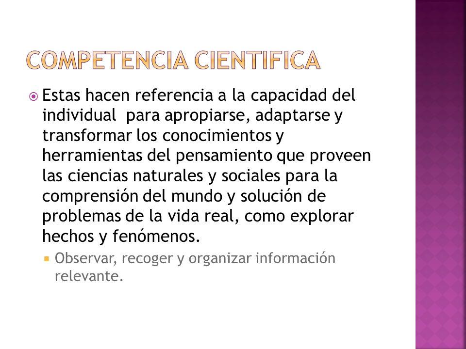 Nuevo paradigma donde la ciencia se va a estudiar de diferentes ámbitos (inter y transdisciplinario).