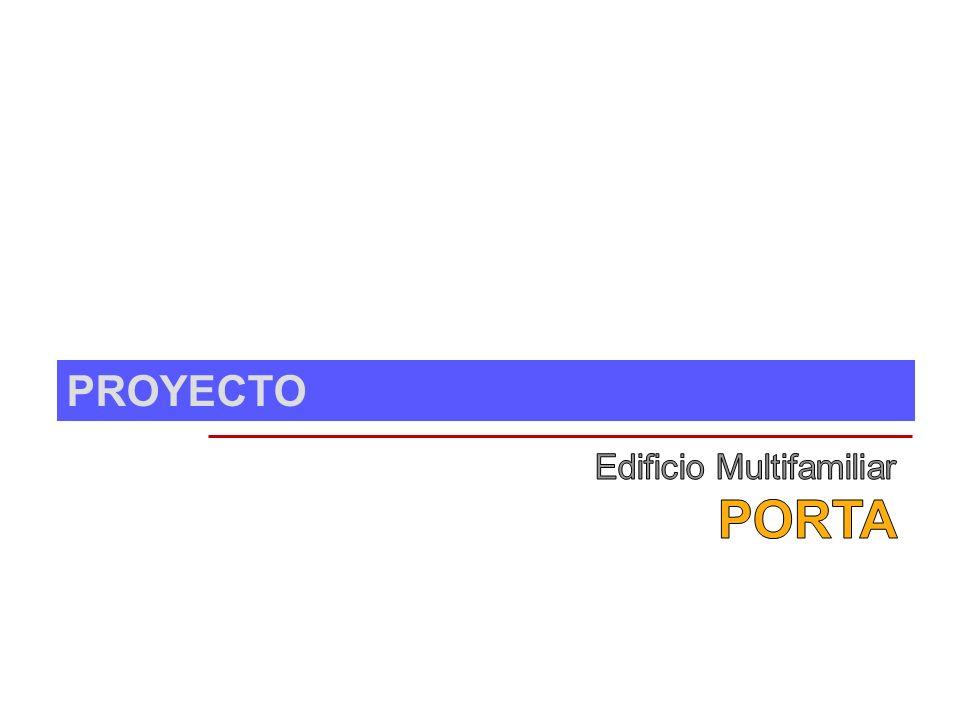 PROPUESTA – Planta 7º piso - Dúplex MULTIFAMILIAR PORTA