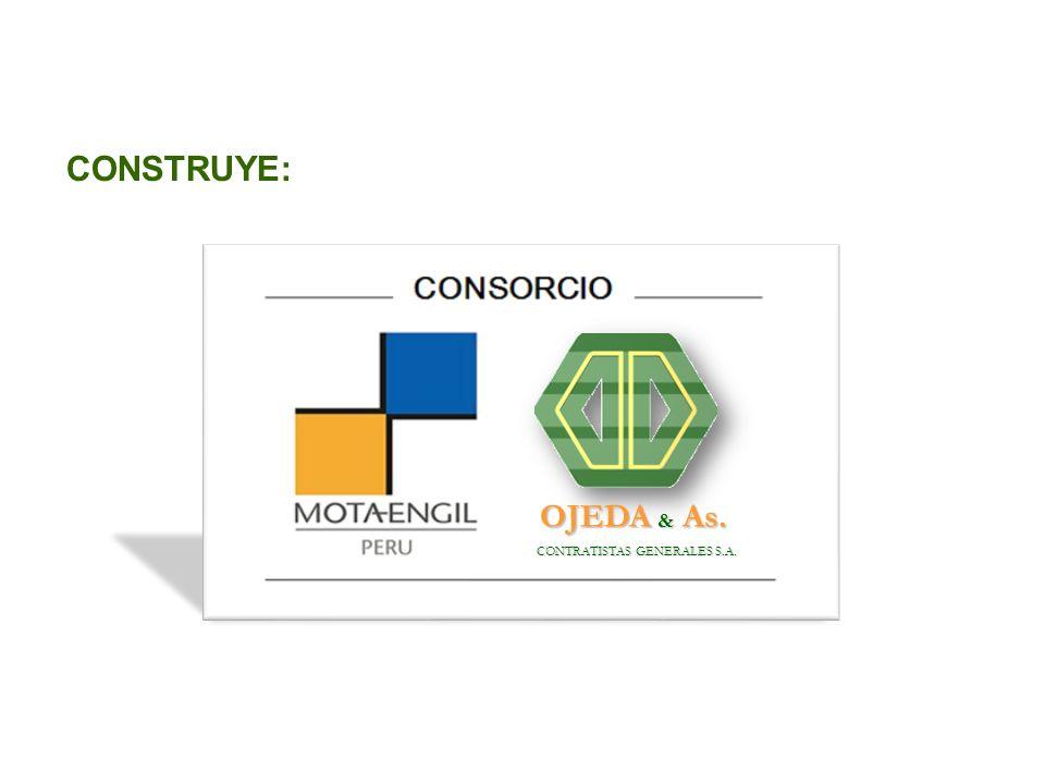 CONSTRUYE: CONTRATISTAS GENERALES S.A. CONTRATISTAS GENERALES S.A. OJEDA & As. OJEDA & As.