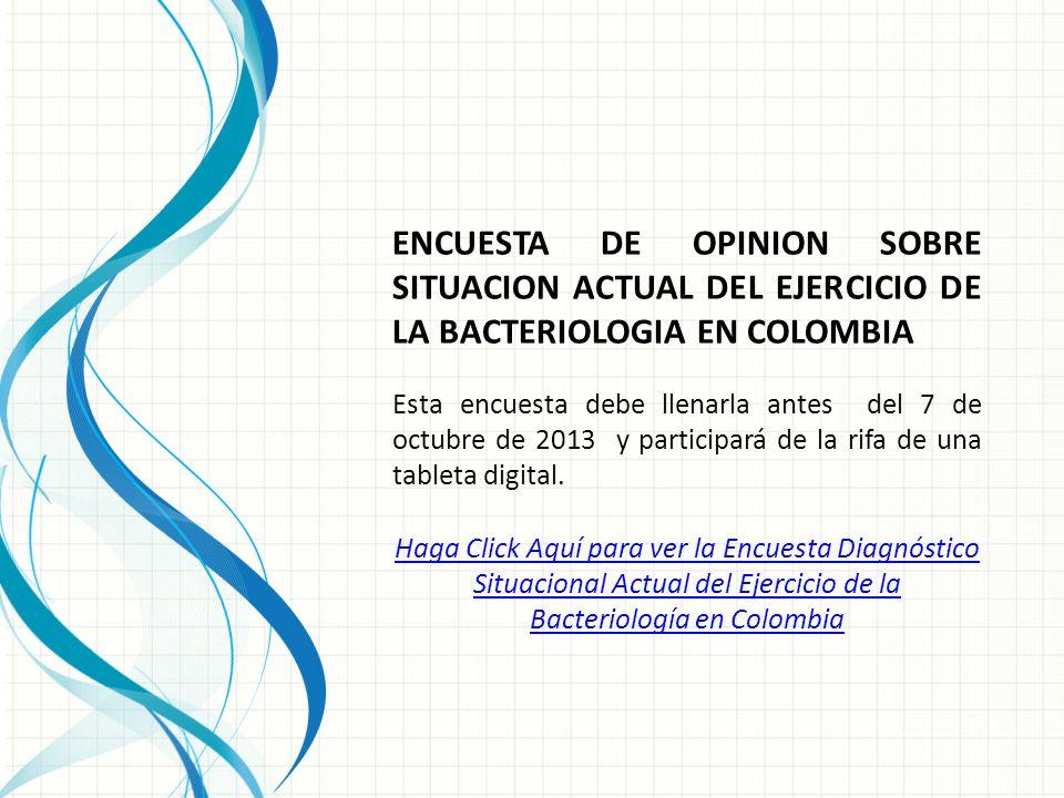Esta encuesta debe llenarla antes del 7 de octubre de 2013 y participará de la rifa de una tableta digital.