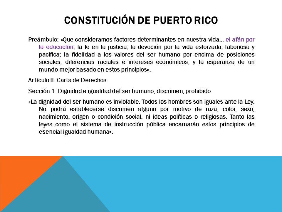 ARTÍCULO II- SECCIÓN 5 - Sección 5: Instrucción pública- «Toda persona tiene derecho a una educación que propenda al pleno desarrollo de su personalidad y al fortalecimiento del respeto de los derechos del hombre y de las libertades fundamentales.» - Sistema de Instrucción pública- será libre y enteramente no sectario.