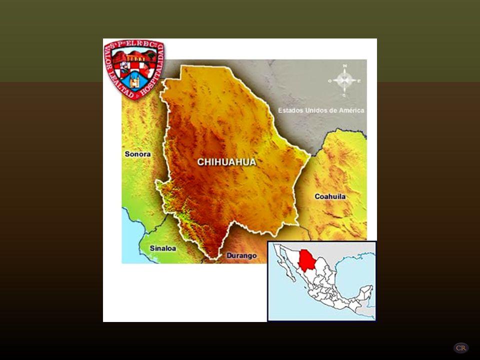 Las Barrancas del Cobre es un grupo de 6 cañones distintivos localizado en la Sierra Tarahumara en el noroeste del estado de Chihuahua, México. El sis