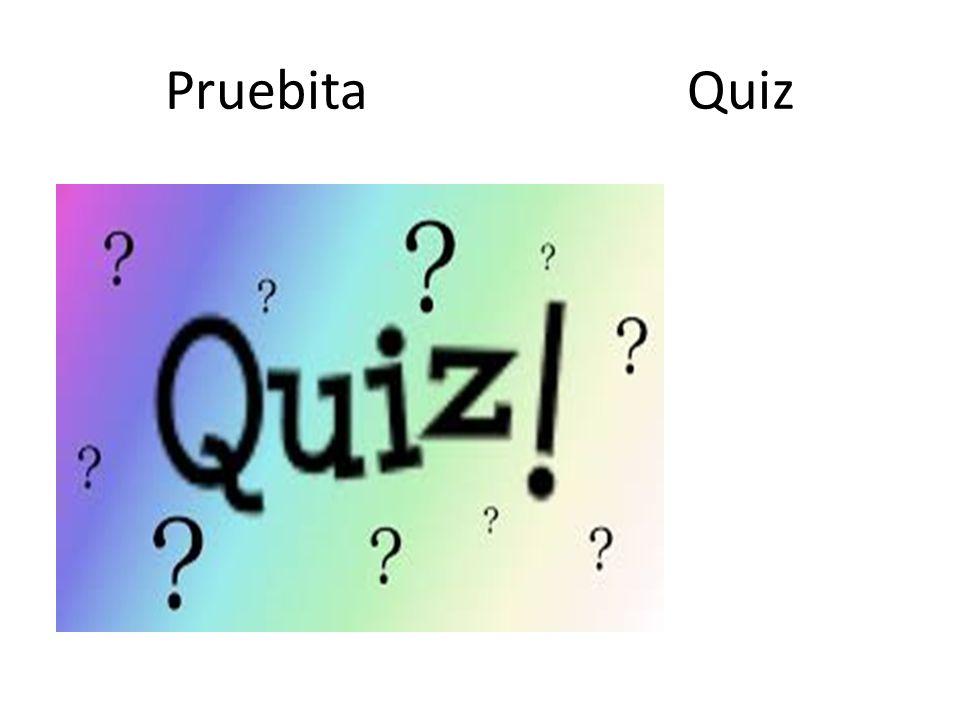 Pruebita Quiz