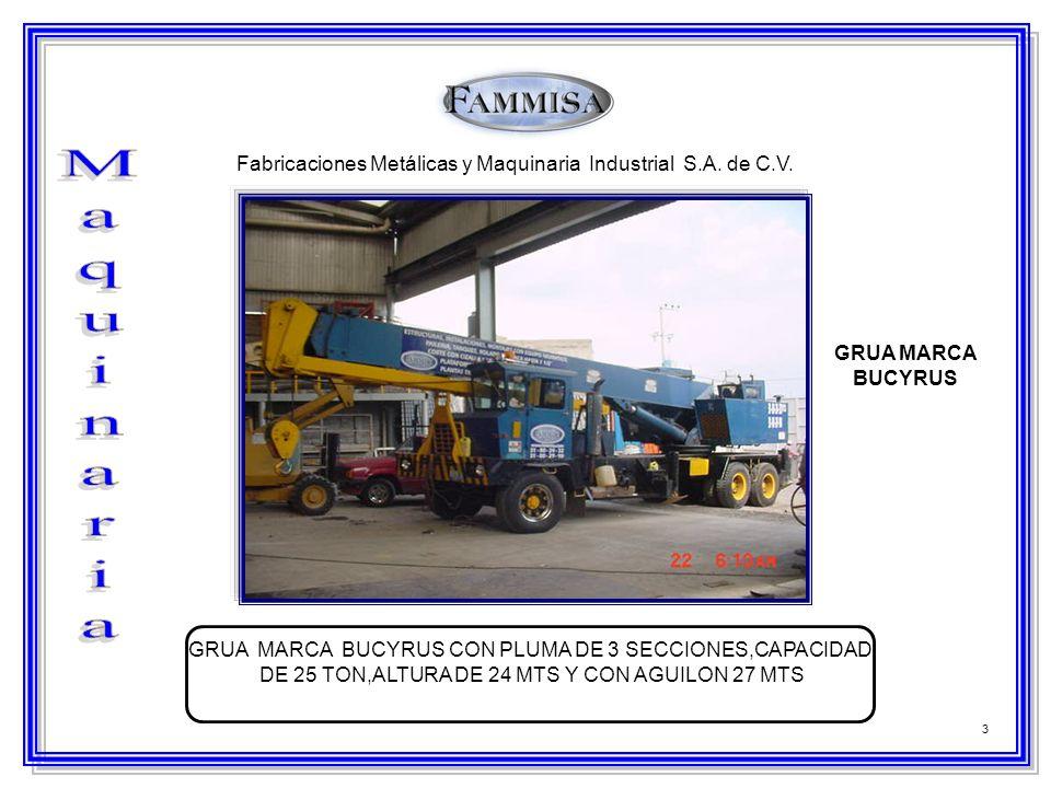 4 Fabricaciones Metálicas y Maquinaria Industrial S.A.