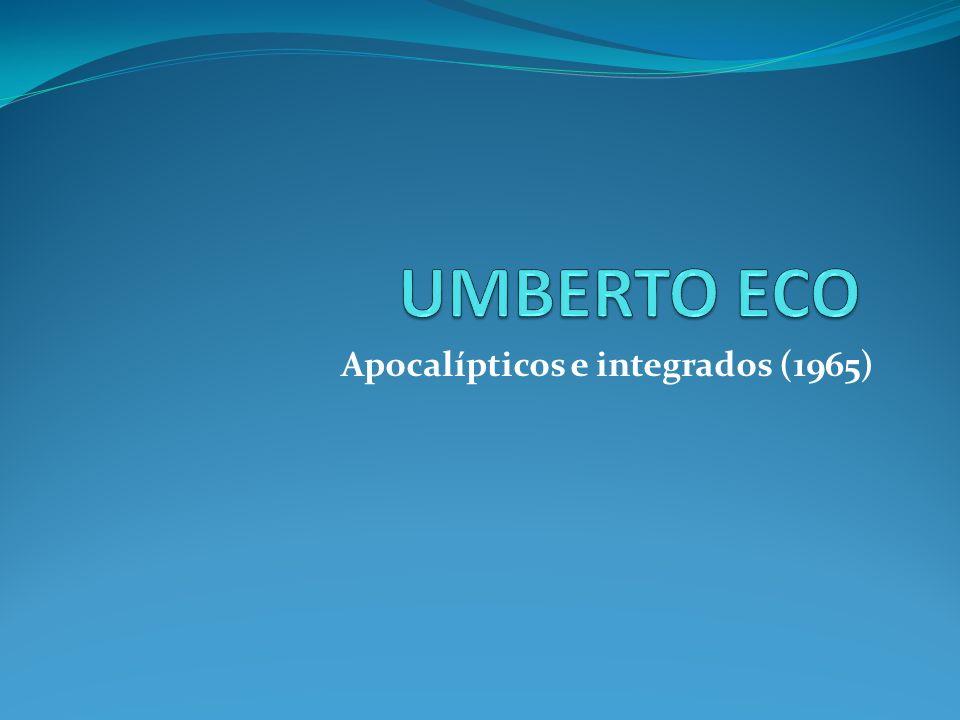 Apocalípticos e integrados (1965)