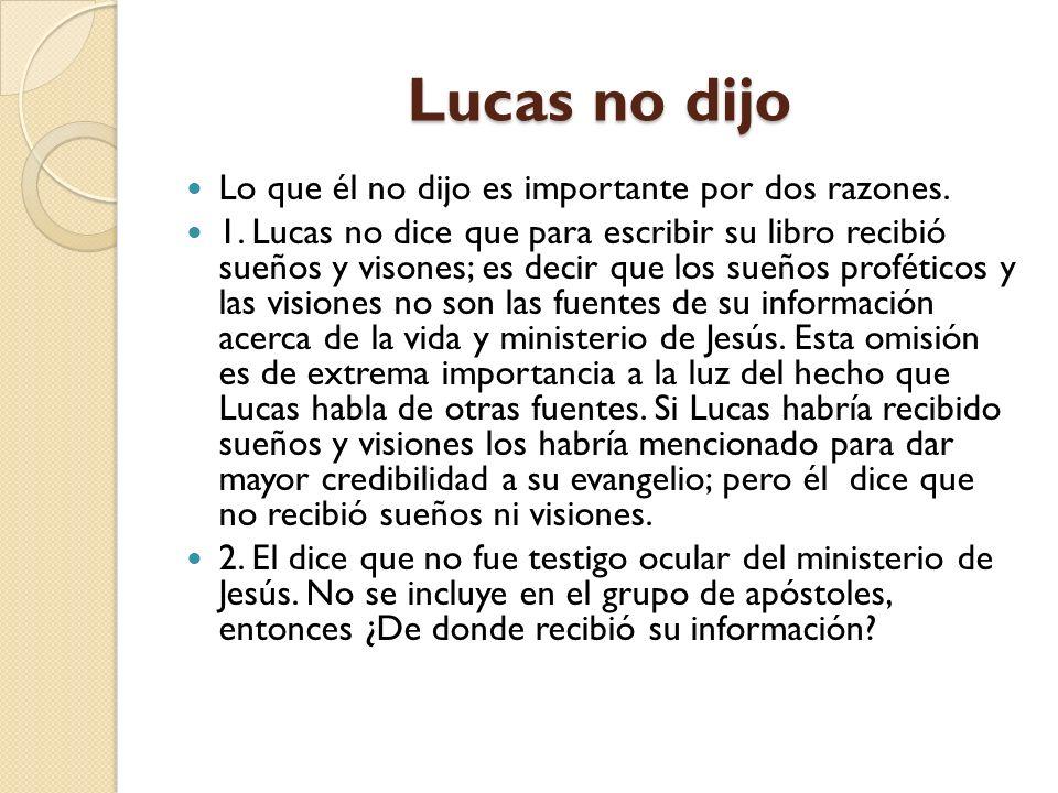 2. EL MODELO DE INVESTIGACIÓN El Libro de Lucas es probablemente el ejemplo más claro de este modelo. En el prólogo de su primer libro (Lucas 1: 1- 4)