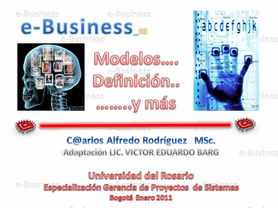 Universidad de Rosario e-BusinessIng.C@rlos A. Rodríguez Utilización del Internet POR C.P./LIC.