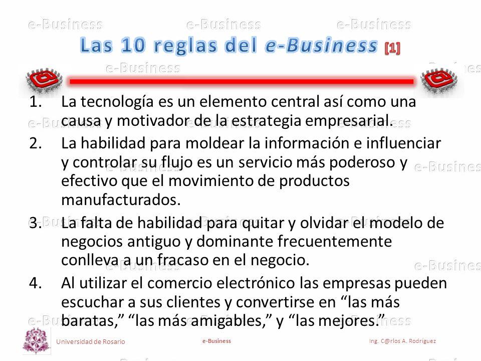 Universidad de Rosario e-BusinessIng. C@rlos A. Rodríguez