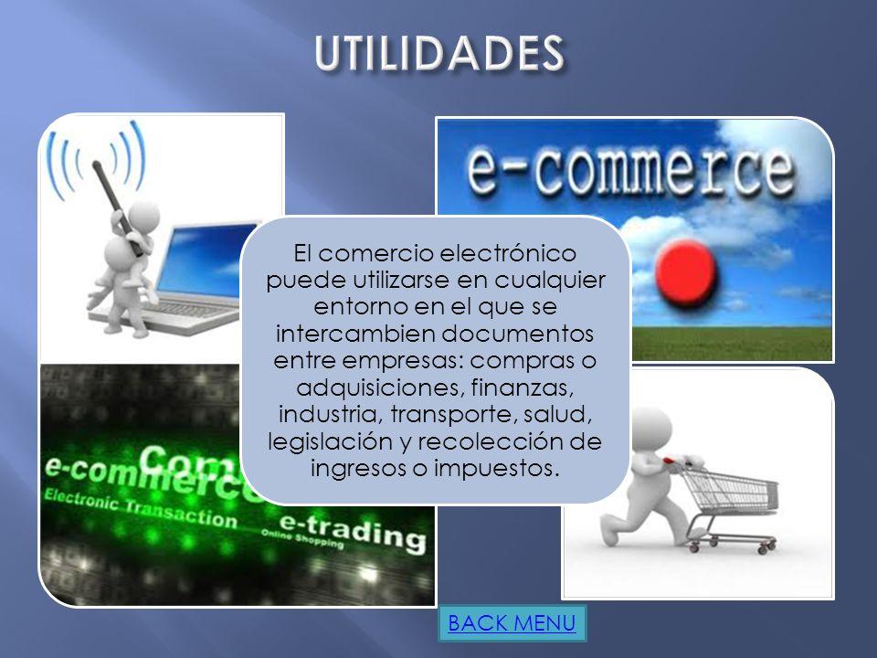 Ya existen compañías que utilizan el comercio electrónico para desarrollar los aspectos siguientes: Creación de canales nuevos de marketing y ventas.