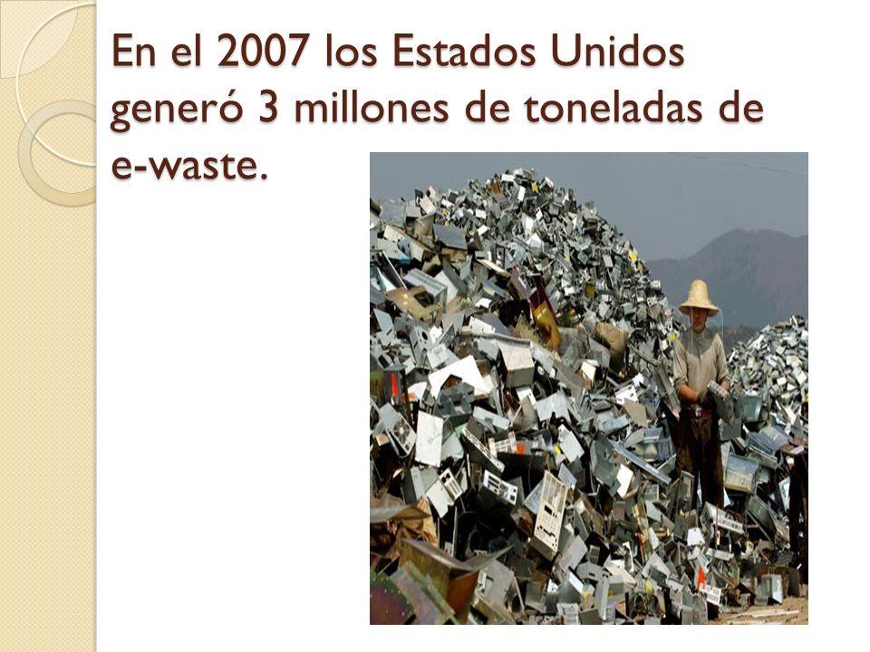 Solo 15% se recoge para reciclar.