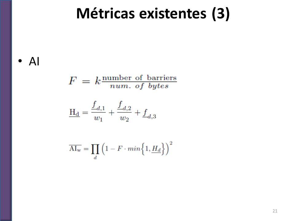 AI Métricas existentes (3) 21