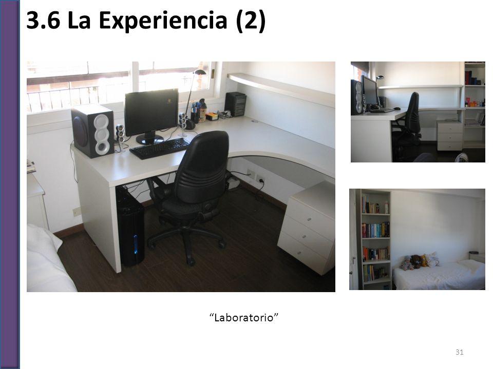 3.6 La Experiencia (2) Laboratorio 31
