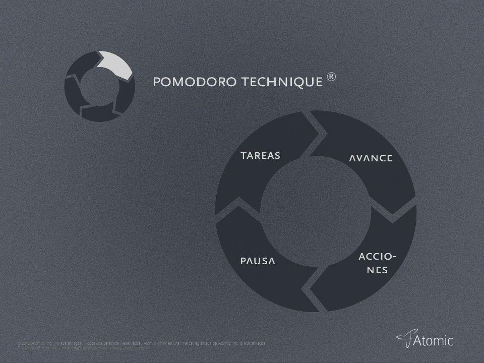 © 2012 Atomic, Inc. y/o sus afiliados. Todos los derechos reservados.