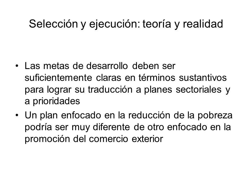 Criterios para preseleccionar proyectos Aceptabilidad política.
