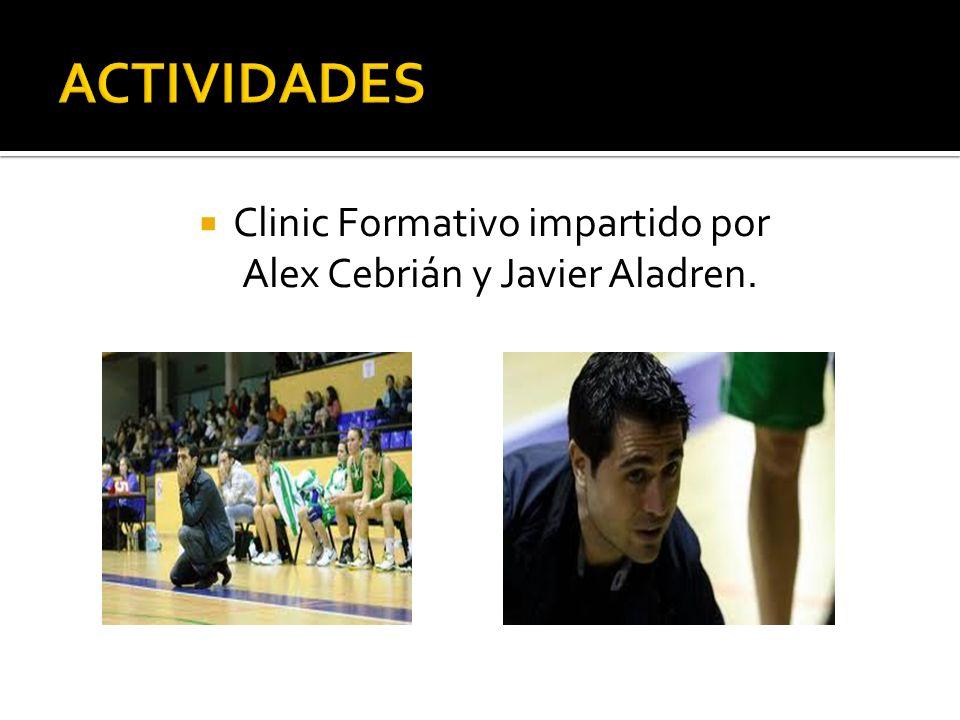 Clinic Formativo impartido por Alex Cebrián y Javier Aladren.