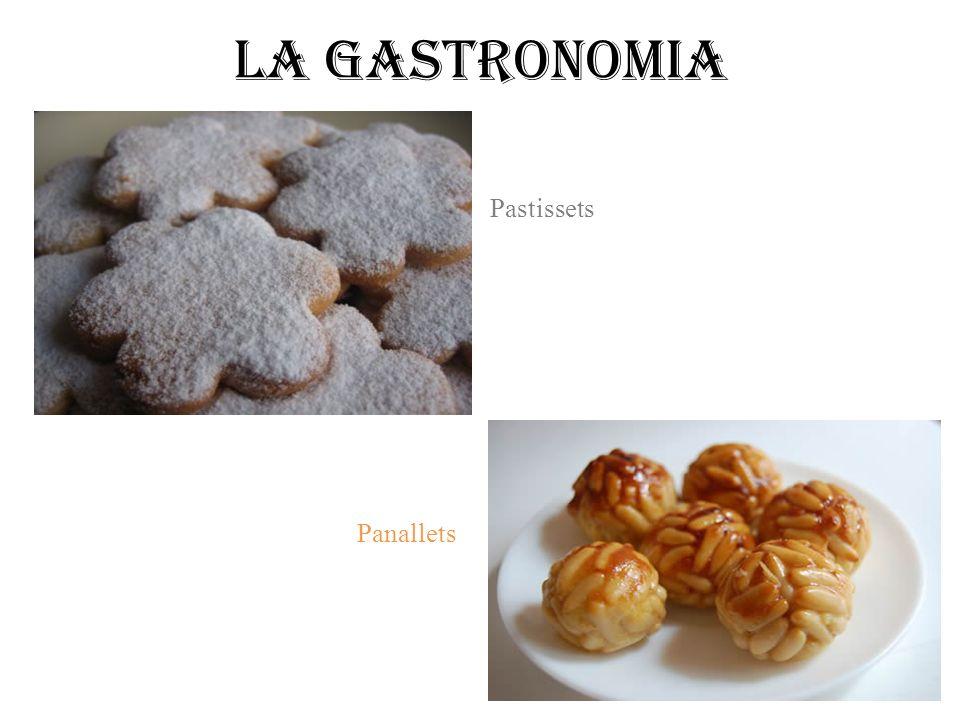 Panallets Pastissets La gastronomia