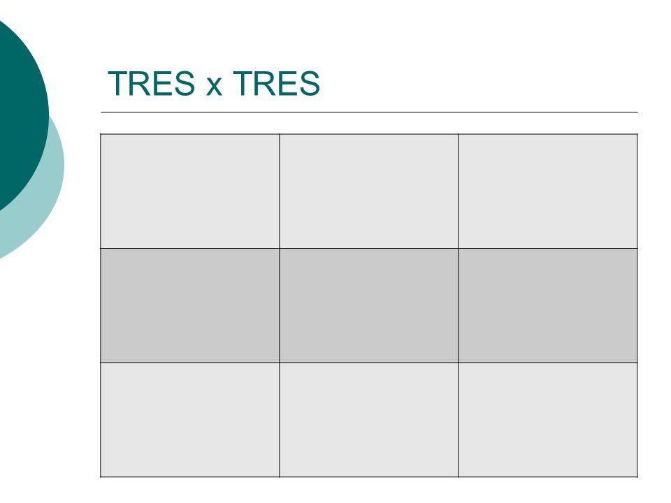 TRES x TRES