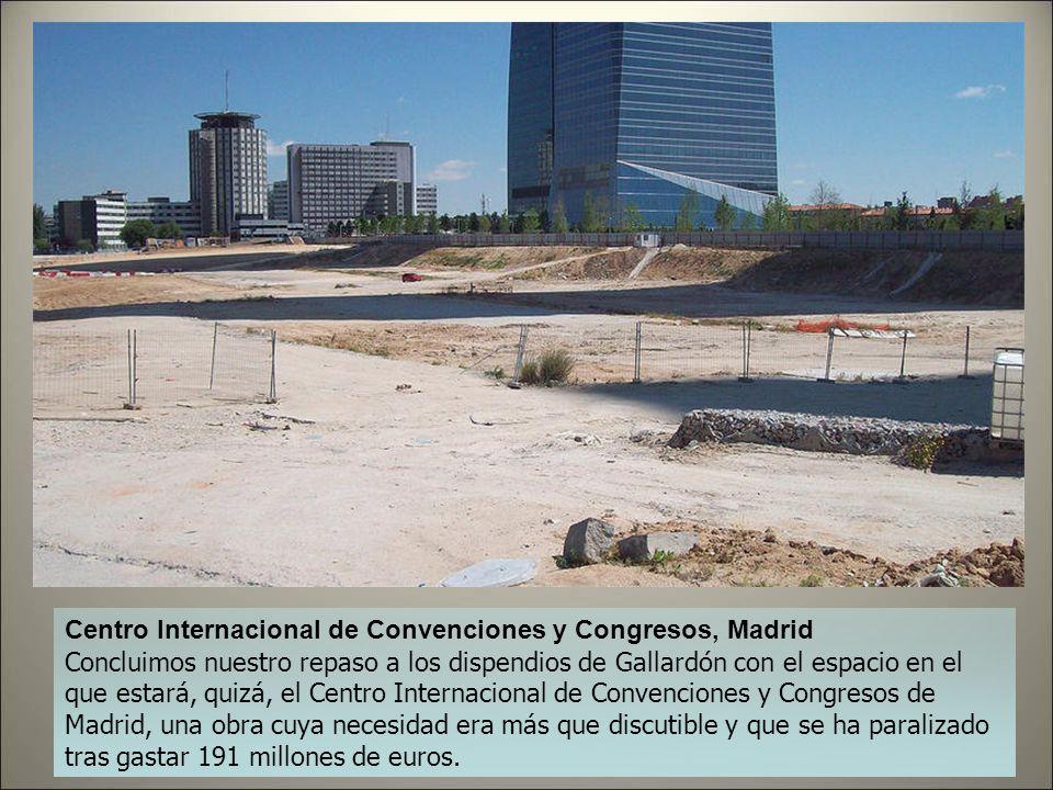 Caja Mágica, Madrid Sin duda, uno de los grandes éxitos del Madrid más olímpico de Gallardón: un pabellón deportivo que actualmente prácticamente sólo
