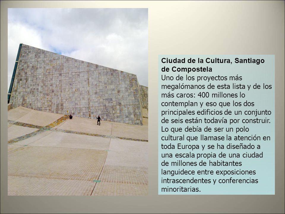 Centro Internacional de Convenciones y Congresos, Madrid Concluimos nuestro repaso a los dispendios de Gallardón con el espacio en el que estará, quiz