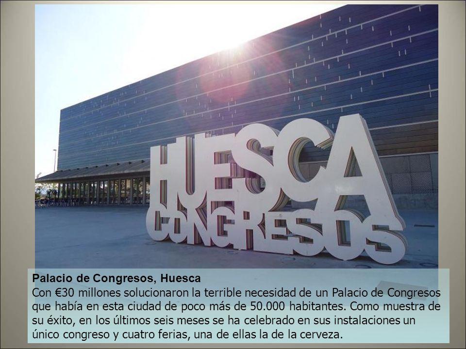 Museo Pablo Serrano, Zaragoza Conocido popularmente como