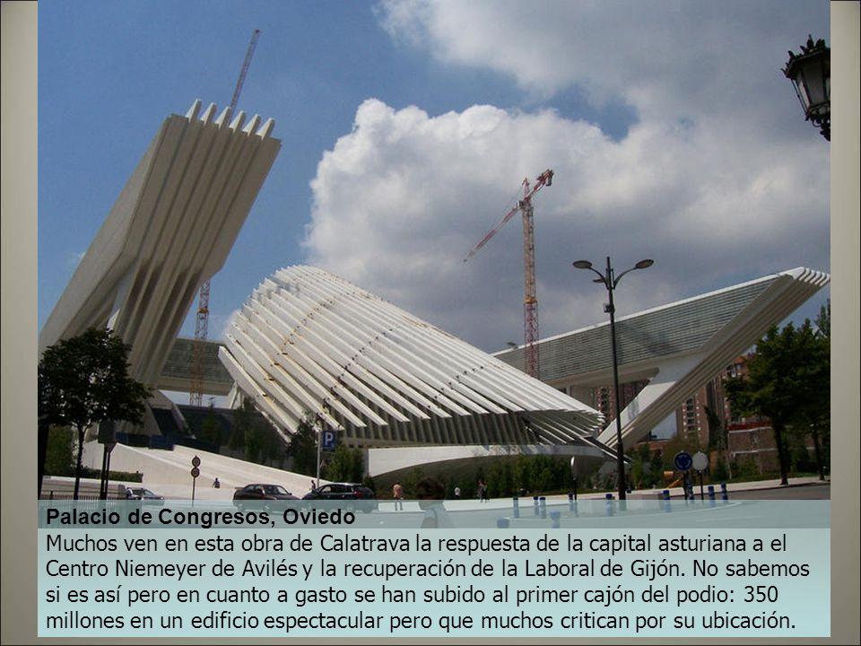 Palacio de Congresos, Huesca Con 30 millones solucionaron la terrible necesidad de un Palacio de Congresos que había en esta ciudad de poco más de 50.