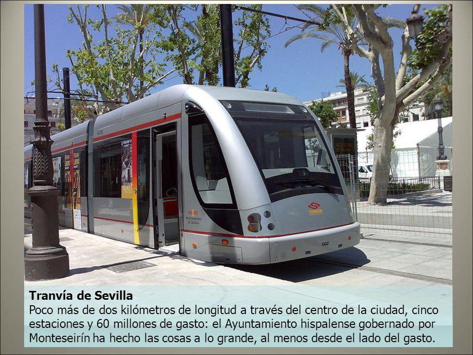 Tranvía de Parla Probablemente el más famoso de los tranvías ruinosos españoles y la mejor bandera de la gestión como alcalde del líder socialista mad