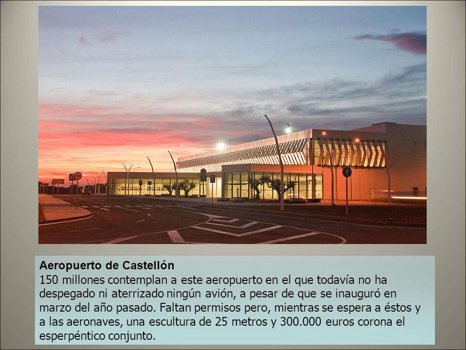 Aeropuerto de Burgos Toda una nueva terminal y nuevas instalaciones permitieron abrir el aeropuerto de Burgos a la aviación comercial en 2008. El cost
