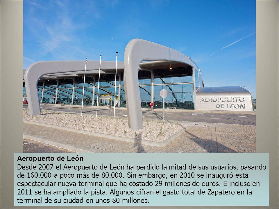 Aeropuerto de Huesca El de Huesca es uno de los que tiene uno de los récords negativos de la aviación española: es difícil imaginar un aeropuerto con
