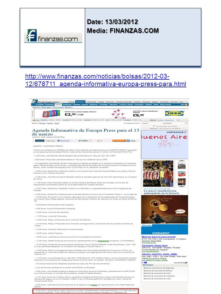 http://www.finanzas.com/noticias/bolsas/2012-03- 12/678711_agenda-informativa-europa-press-para.html
