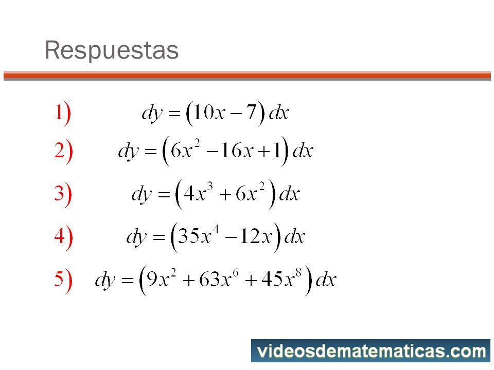 Cálculo del diferencial dC Sea la curva C: Calcular dC