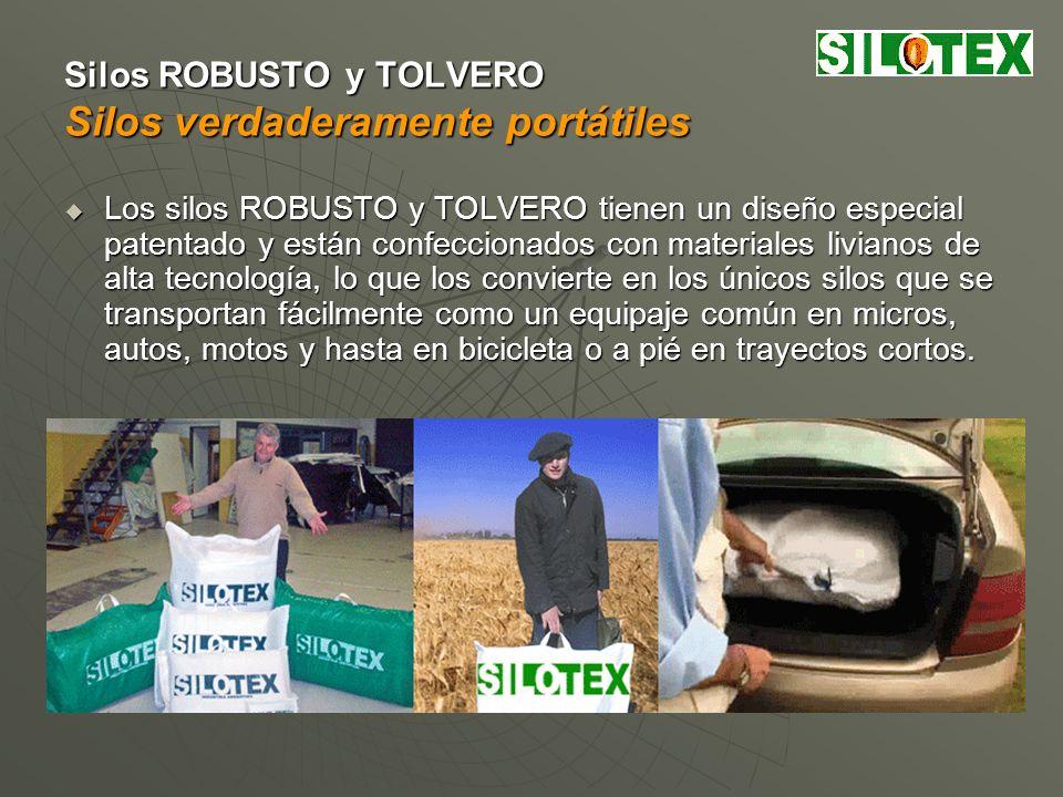 Silos ROBUSTO y TOLVERO Silos que se arman muy fácilmente y sin riesgos Los silos ROBUSTO y TOLVERO se arman fácil y rápidamente aún con personas sin entrenamiento previo.