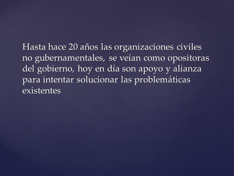 ¿Cuál es la función de las organizaciones civiles en México.