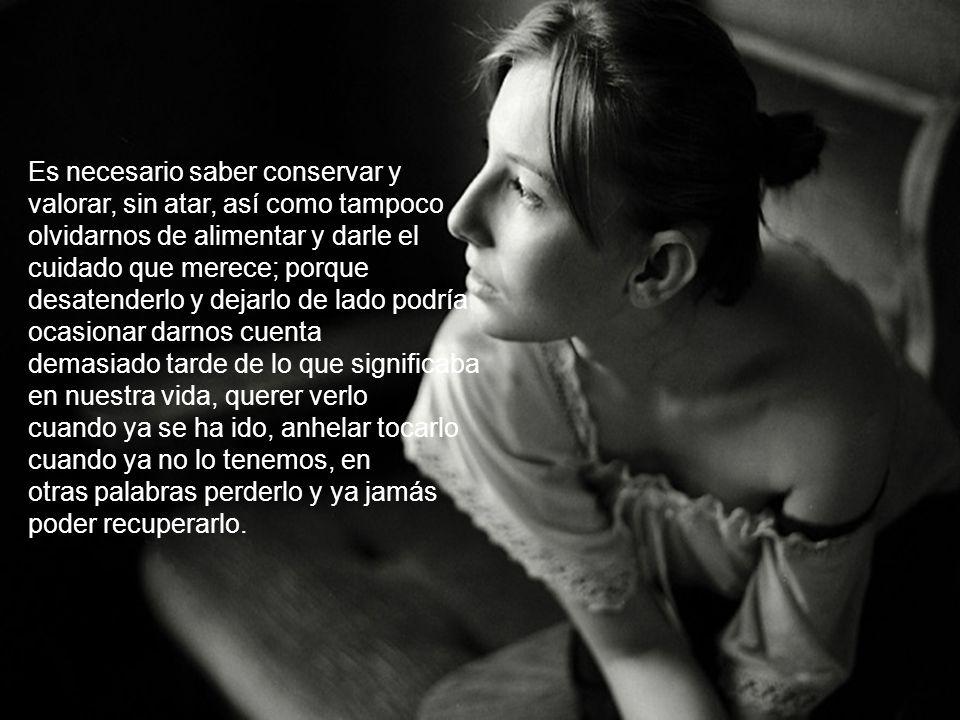 SOLTAR NO ES ABANDONAR... Soltar no es abandonar ni olvidar; es simplemente dejar en libertad, ser y dejar ser, sin presionar ni ahogar, ni obligar o