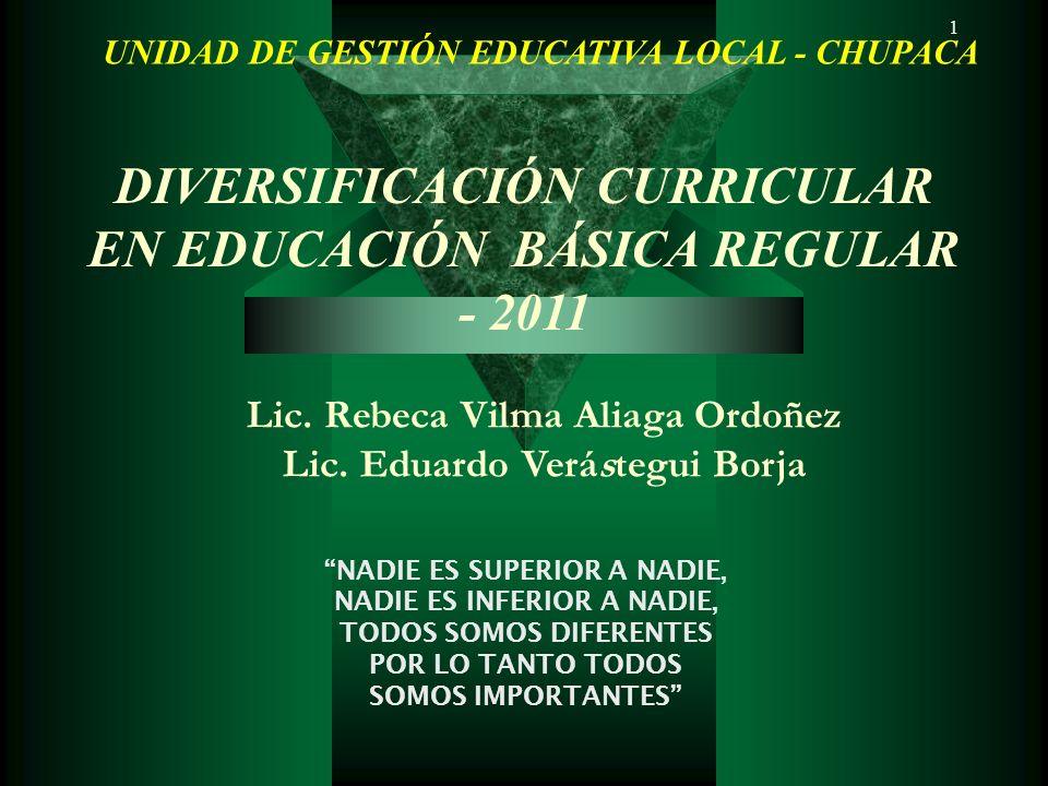 1 Lic.Rebeca Vilma Aliaga Ordoñez Lic.