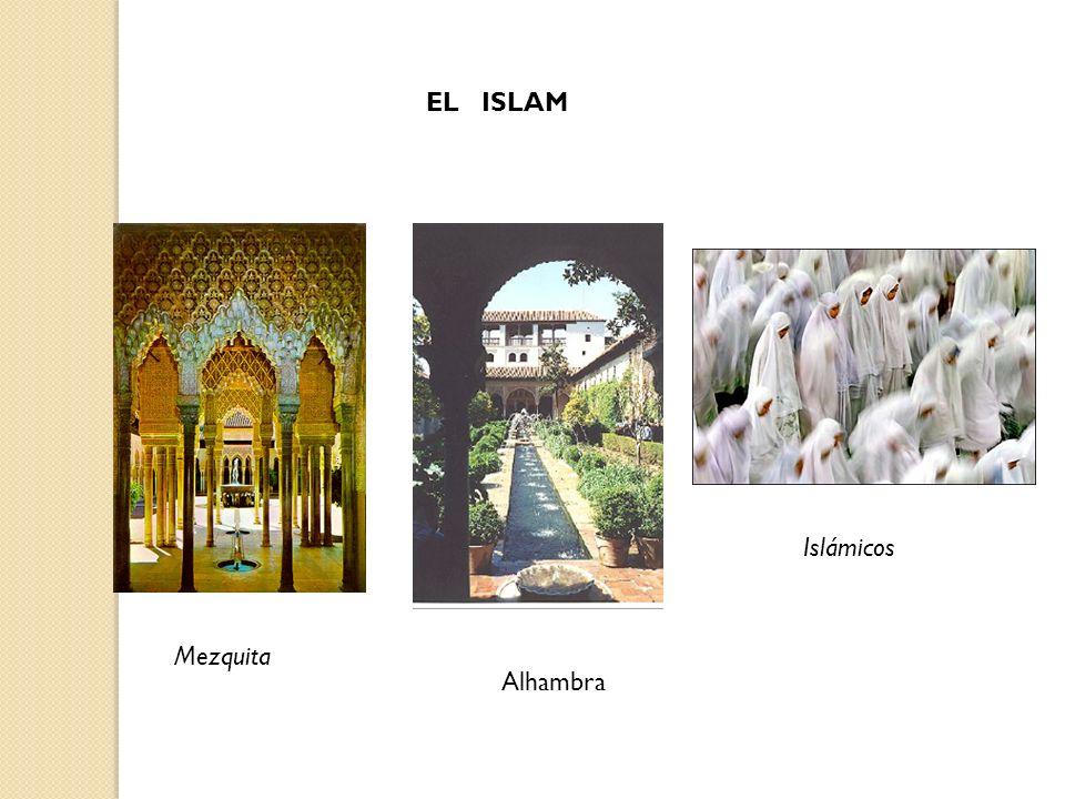 Mezquita Alhambra Islámicos EL ISLAM